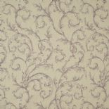 Fontainebleau Fabric Arabesque Reina Lin FONT81795118 or FONT 8179 51 18 By Casadeco